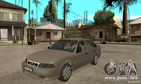 Daewoo Nexia Dohc 2009 para GTA San Andreas