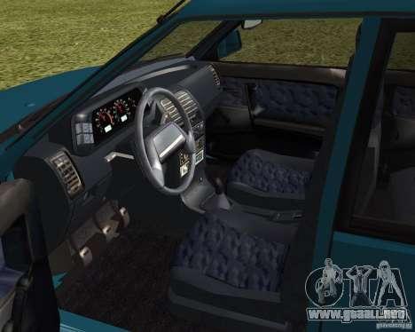 VAZ 21099 Suite para GTA San Andreas vista hacia atrás