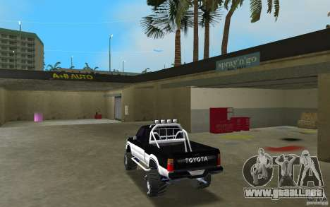 Toyota Hilux Surf para GTA Vice City vista lateral izquierdo