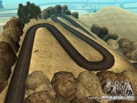 Downhill Drift para GTA San Andreas sucesivamente de pantalla