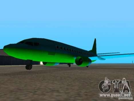 AT-400 en todos los aeropuertos para GTA San Andreas tercera pantalla