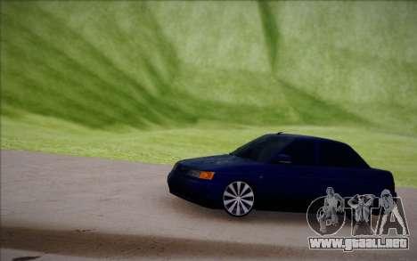 VAZ-2110 para visión interna GTA San Andreas