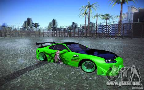 Toyota Supra Tuned para GTA San Andreas