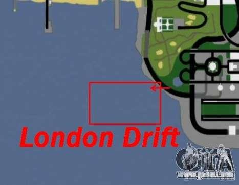 Deriva de Londres para GTA San Andreas quinta pantalla