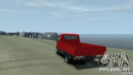 GAZ 3302-14 (Gazelle a bordo) para GTA 4 left