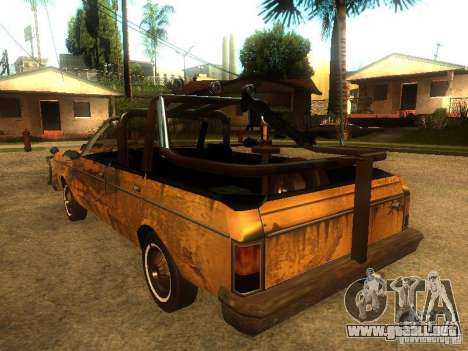 Regina War para la visión correcta GTA San Andreas