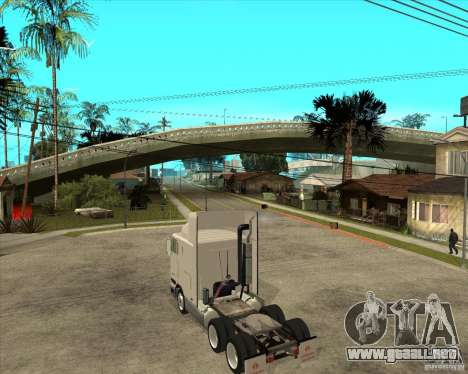 Navistar International 9800 para GTA San Andreas left