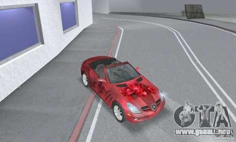 Mercedes-Benz SLK 350 para visión interna GTA San Andreas
