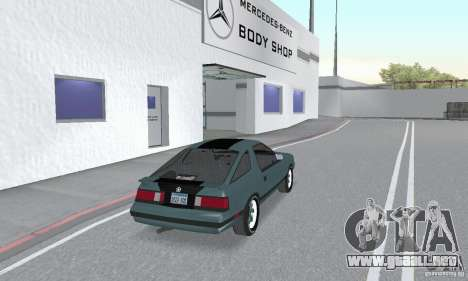 Dodge Daytona Turbo CZ 1986 para GTA San Andreas left