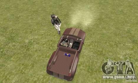 Dodge Sidewinder Concept 1997 para GTA San Andreas vista hacia atrás