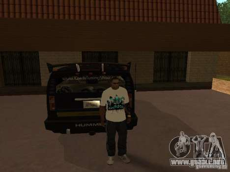 Jersey Adidas para GTA San Andreas tercera pantalla