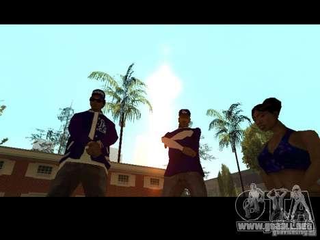 Piru Street Crips para GTA San Andreas octavo de pantalla