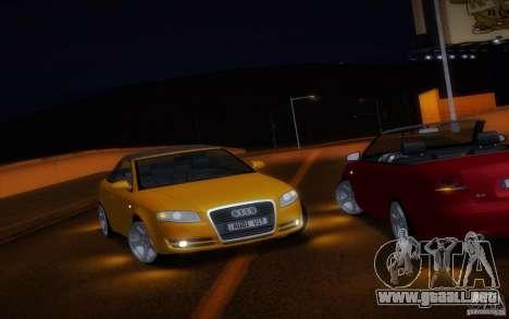 Audi A4 Cabrio para vista lateral GTA San Andreas