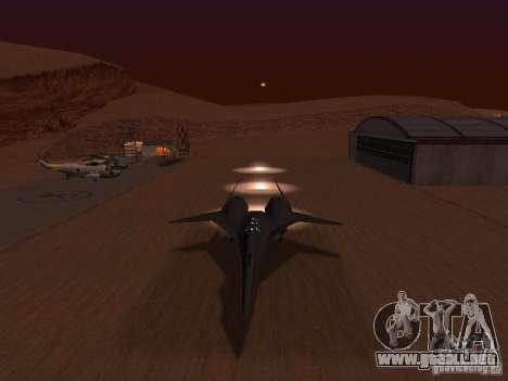 ADF01 Falken para visión interna GTA San Andreas