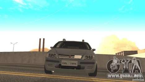 Fiat Idea HLX para GTA San Andreas vista posterior izquierda