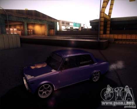 2106 VAZ deriva para la visión correcta GTA San Andreas