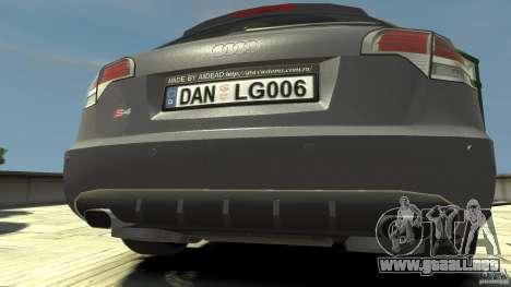 Audi A4 Avant beta para GTA 4 visión correcta