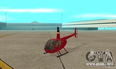 Robinson R44 Raven II NC 1.0 piel 1 para GTA San Andreas left