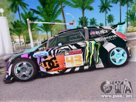 Ford Fiesta Gymkhana 6 para GTA San Andreas