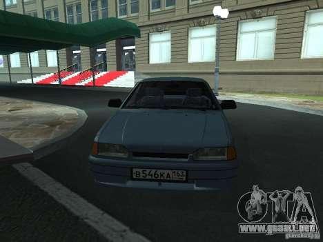 Touring 2114 ВАЗ para la visión correcta GTA San Andreas