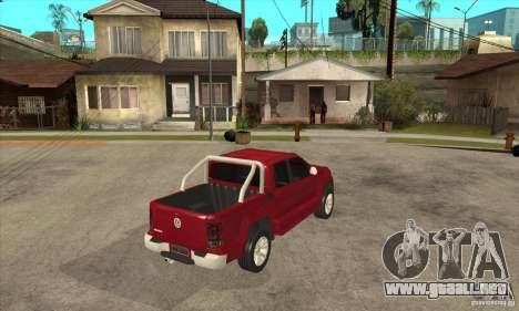 Volkswagen Amarok 2010 para la visión correcta GTA San Andreas