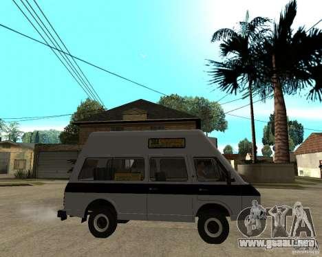RAPH 22038 taxi para la visión correcta GTA San Andreas
