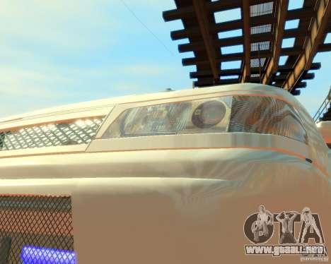 VAZ-2112 Tuning para GTA 4 vista hacia atrás