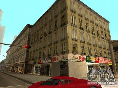 Nuevo centro de texturas Los Santos para GTA San Andreas segunda pantalla