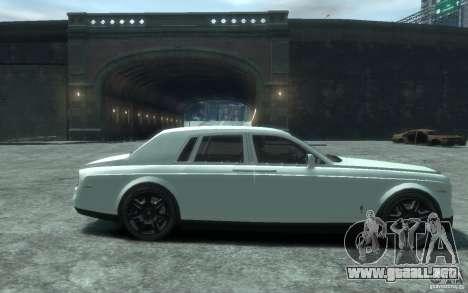 Rolls-Royce Phantom para GTA 4 vista hacia atrás