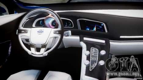 Volvo S60 Concept para GTA 4 visión correcta