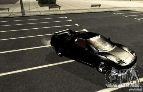 Acura NSX Tuned para la vista superior GTA San Andreas
