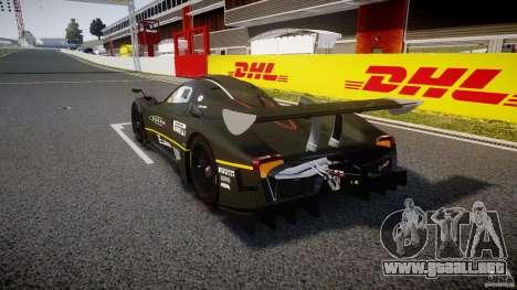 Pagani Zonda R 2009 para GTA 4 Vista posterior izquierda