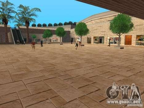 Nuevo centro comercial de texturas para GTA San Andreas segunda pantalla