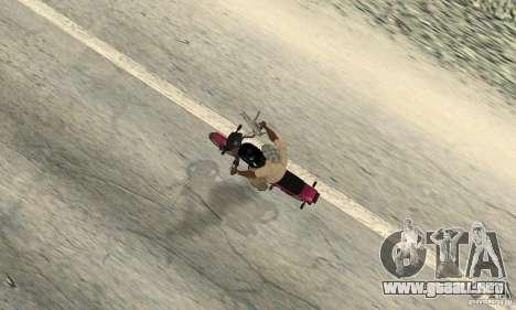 ZID buho 175 v 2.0 para GTA San Andreas vista hacia atrás