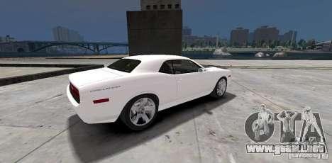 Dodge Challenger 2006 para GTA 4 visión correcta