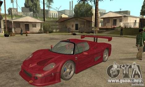 Ferrari F50 GT (v1.0.0) para GTA San Andreas