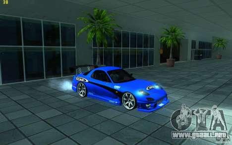 Mazda Rx7 C-West para GTA San Andreas left