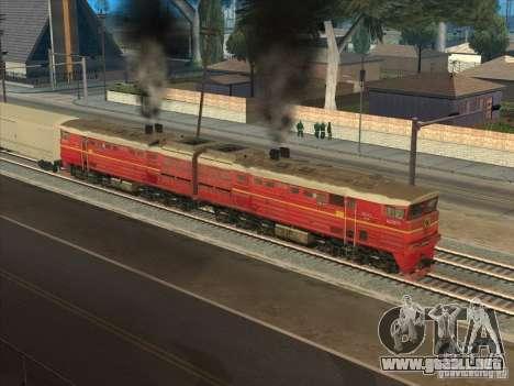 2te10v-4833 para GTA San Andreas vista hacia atrás