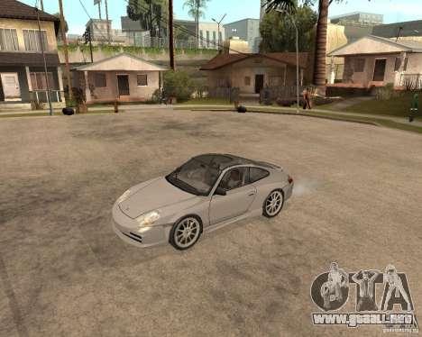 Porsche 911 TARGA para GTA San Andreas vista posterior izquierda