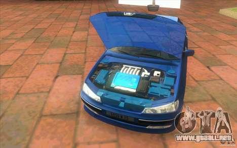 Peugeot 406 1.9 HDi para visión interna GTA San Andreas