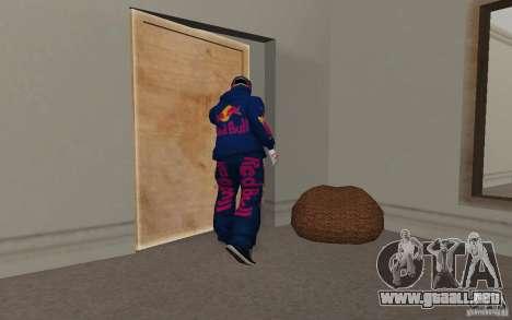 Red Bull Clothes v2.0 para GTA San Andreas séptima pantalla