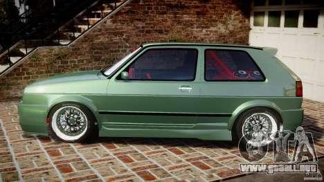 Volkswagen Golf II W8 para GTA 4 left