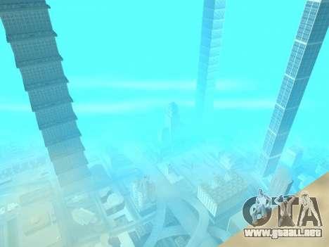 Rascacielos en Los Santos para GTA San Andreas quinta pantalla