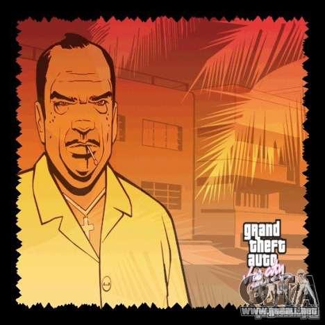La nueva pantalla de arranque HD para GTA Vice City segunda pantalla