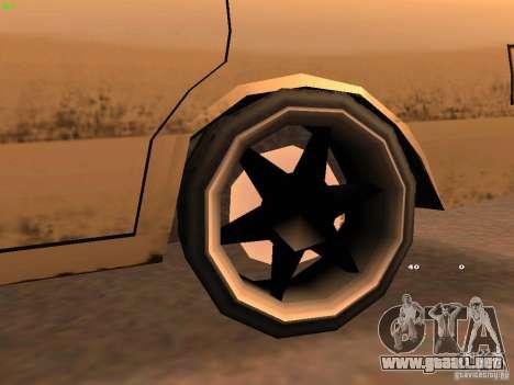 New Perennial para GTA San Andreas vista hacia atrás