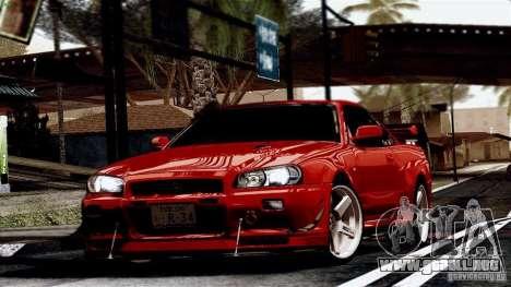 ENB By Wondo para GTA San Andreas octavo de pantalla