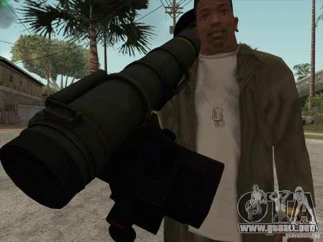 Javelin para GTA San Andreas sucesivamente de pantalla