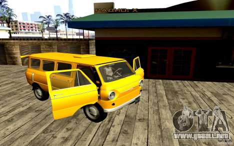 ZAZ 970 para vista lateral GTA San Andreas