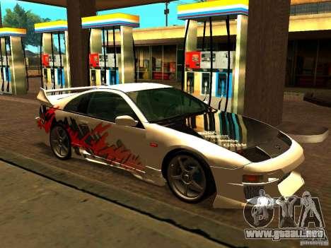 Nissan 300ZX para vista lateral GTA San Andreas