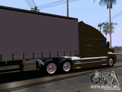 Kenworth T2000 v.2 para la visión correcta GTA San Andreas